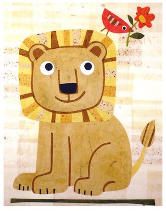 "kateendle.com ""Lion"" by Kate Endle"