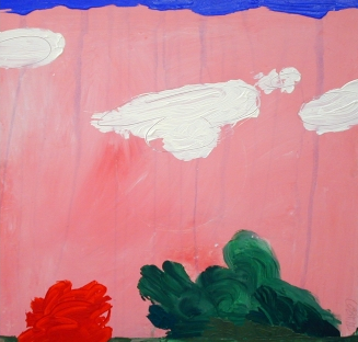 "zatista.com Edward Zelinsky ""Pink Landscape"""