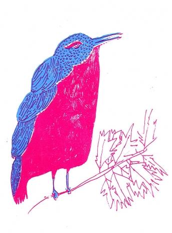 "zatista.com Elizabeth Graeber ""Bird"""