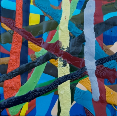 Abstract Plaid #106  by Marie Kazalia on Zatista.com