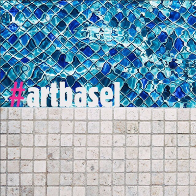 via Instagram @artbasel: Double tap if you're excited for our 14th edition in Miami Beach! Whether you're attending or following along on social media, be sure to explore the show + share what you love via the the official hashtag: #artbasel