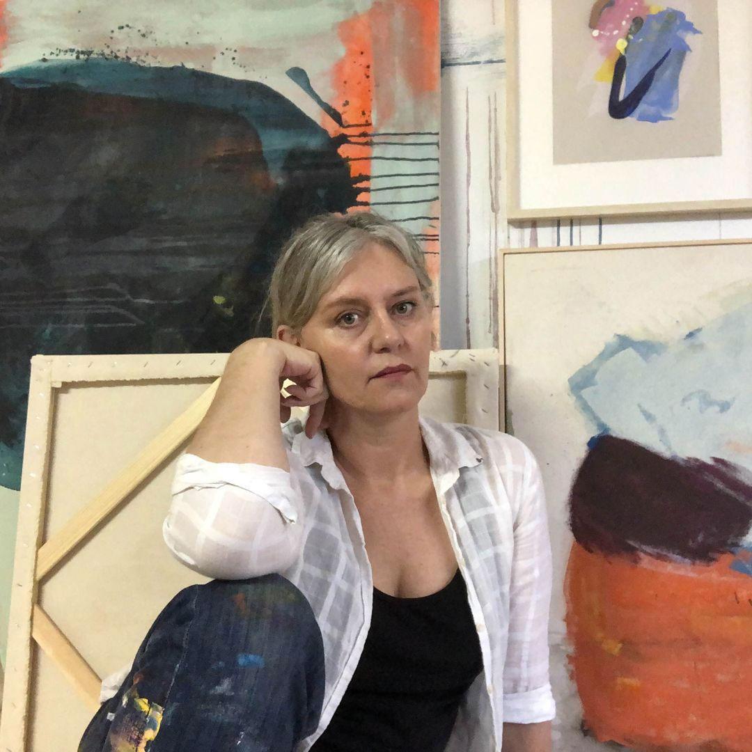 abstract artist melissa mcgill