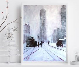 Welcoming Winter with Art