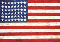 Flag, 1955 by Jasper Johns